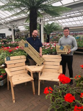 Bradford garden centre is first retail outlet for handcrafted Yorkshire furniture