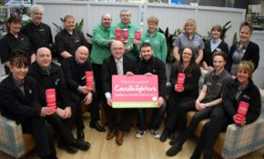 Children's cancer charity is nominated as garden centre charity of the year