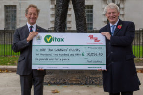 Vitax Q4 grows ABF The Soldiers' Charity funds by over £10,000