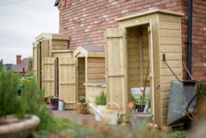 Record deliveries for online timber garden products