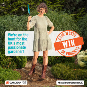 Gardena searches for the uk's most passionate gardener, this National Gardening Week