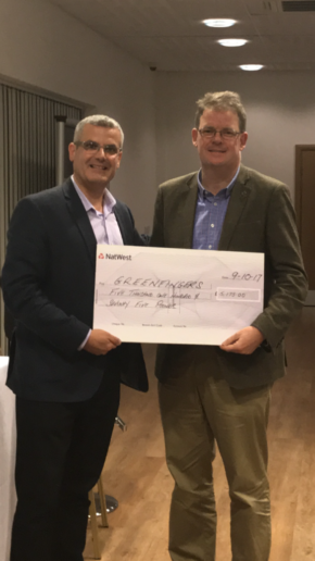 Decco raises over £5,000 for Greenfingers