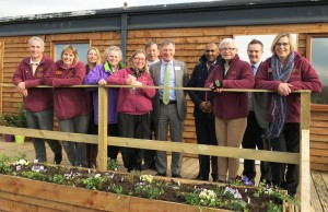 Lindengate charity celebrates completion of Wyevale Garden Centres' recent major facility improvements