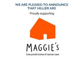 Hillier announces new charity partnership with Maggie's