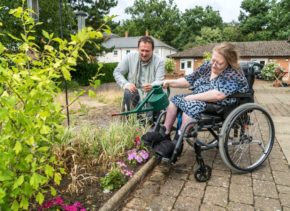 Mark Lane teams up with Leonard Cheshire and the National Garden Scheme to celebrate the benefits of gardening for health