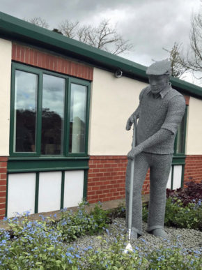 Yorkshire horticulturalist sees life's work immortalised with statue in his honour