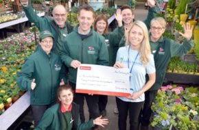 Stewarts Garden Centre customers raise over £20,000 for appeal