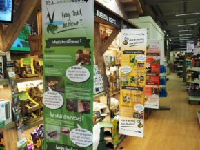Wildlife World opens educational display at leading UK garden centre