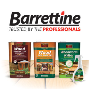 The complete 'Nourish & Protect' Woodcare range from Barrettine