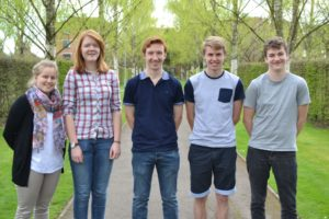 Writtle students at the Hillier Acadamy 2016 WEB