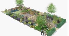 Platinum award win for Wyevale Garden Centres' 'Solutions Garden' at Gardeners' World Live